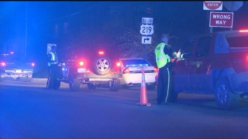 The Ronceverte Police Dept. conducted a DUI checkpoint Thursday night on Rt. 219.