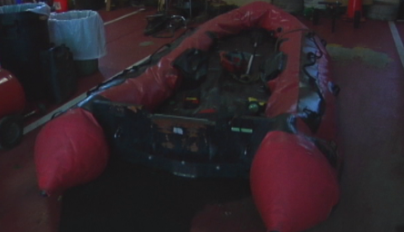 Hinton Firefighters Raft