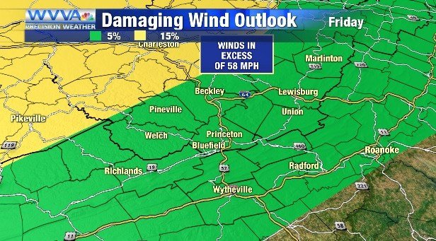 Flooding, severe weather possible Friday night through Saturday