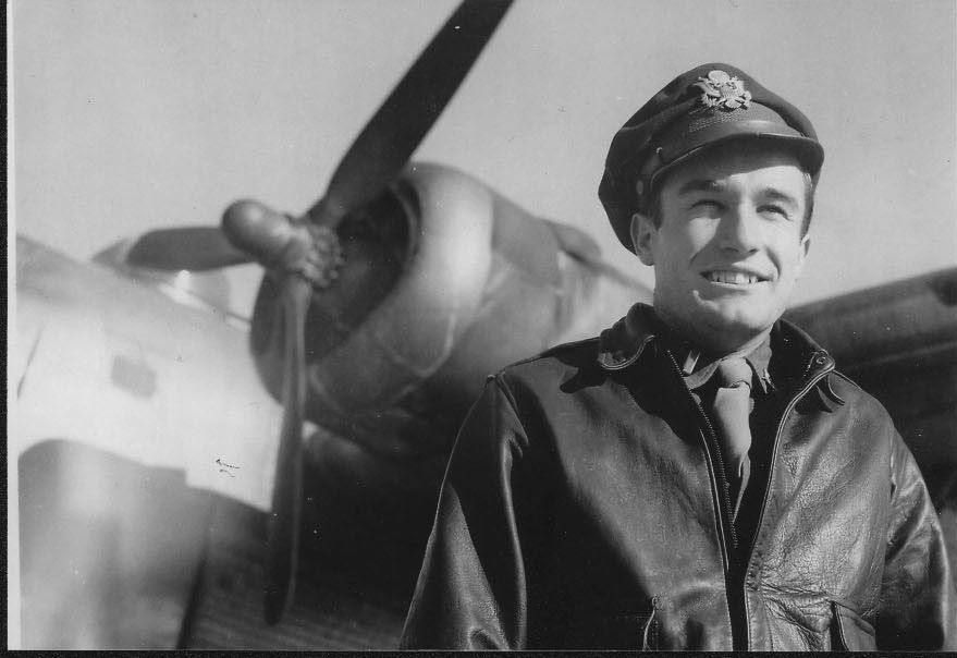Second Lt. Clarence Dragoo/ photo courtesy West Virginia Division of Culture and History