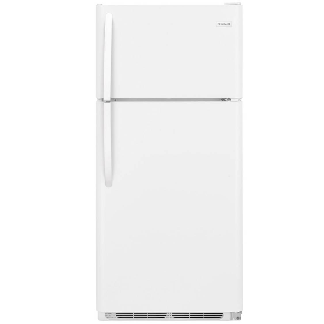 Frigidaire white 18 cu ft top mount – sku 7805F82 – Refrigerator