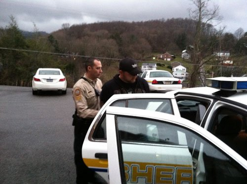 Photo of Looney's arrest