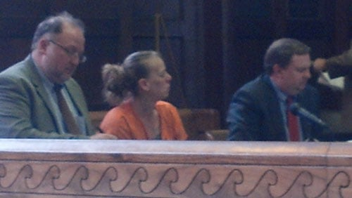 Tammy Keen, center, in court Monday
