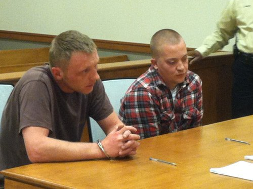 From left: Jason Brent Wickline, Bryan Phillip Bolt