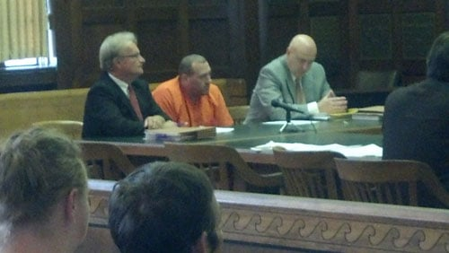 Thomas Tyler Hall in court; photo by Rachel Lucas