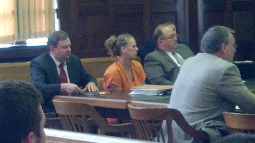 Tammy Keen in court; photo by Rachel Lucas