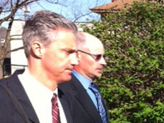 Attorney Tim Carrico, left, and Gary May; file image