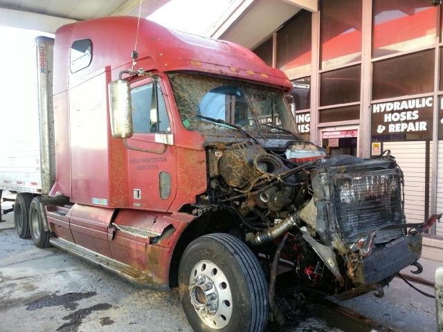Truck involved in I-64 accident