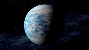 (AP Photo/NASA/Ames/JPL-Caltech). This artist's rendition provided by NASA shows Kepler-69c, a super-Earth-size planet in the habitable zone of a star like our sun, located about 2,700 light-years from Earth in the constellation Cygnus.