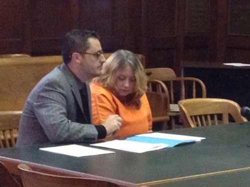 Kimberly Cox in court