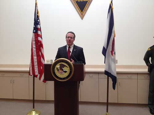 US Attorney Booth Goodwin; photo by Caroline Bach
