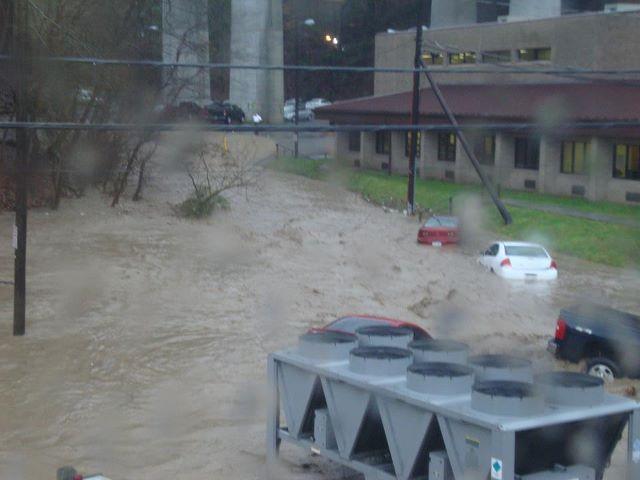 Brittany Lawson, Logan Co flooding