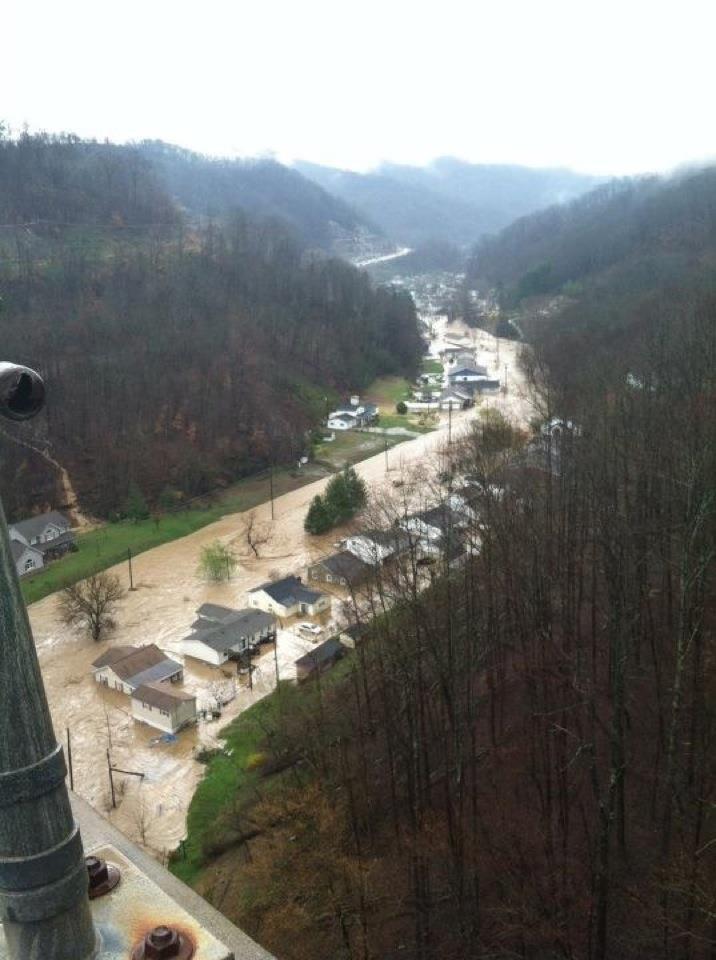 Logan Co. flooding