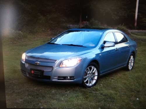 Chevy Malibu, courtesy State Police