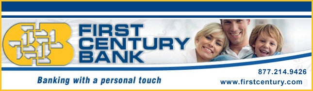 First Century Bank - Sponsorship Header