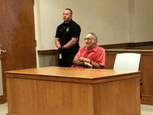 Alvin Jessup in court