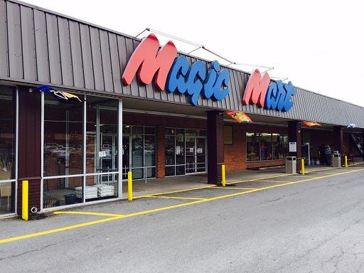 FILE PHOTO: Magic Mart store closed down in Rainelle, WV in Sept. 2014.