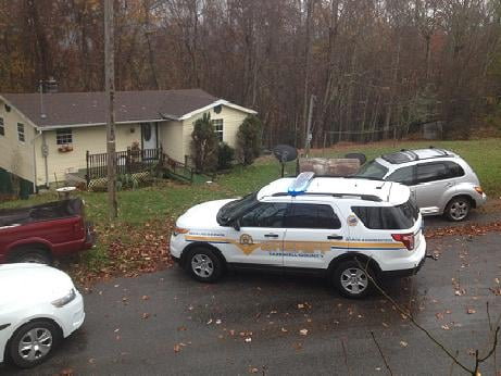 A robbery suspect has 40 minute standoff with deputies in Tazewell County