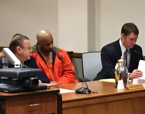 Charles Breckenridge, 48, is sentenced to 10 years in prison for the 2012 stabbing death of Emmanuel Page.
