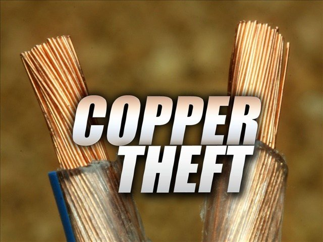 Thieves steal 2500 feet of copper cable from the Davy area of McDowell County.