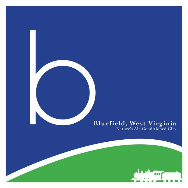 The City of Bluefield, WV launches a new logo to help recreate its brand and move the city forward.