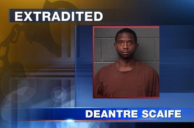 Deantre Scaife is charged with the August 2012 shooting death of Derek Tabor. Scaife was arraigned on Monday in Mercer County.
