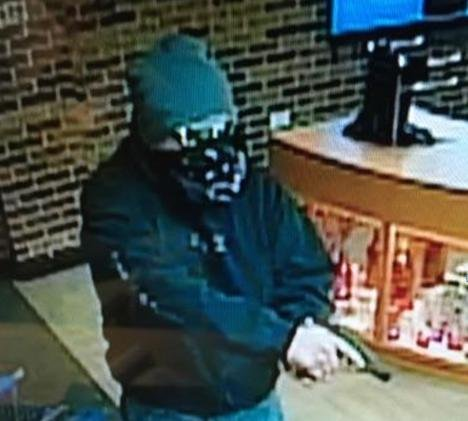 The Virginia State Police seek man who armed robbed an ABC store in Gate City, VA.