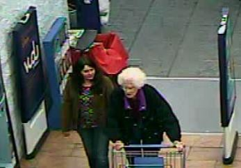 Two women are accused of taking donated toys from the Claypool Hill, VA Walmart.