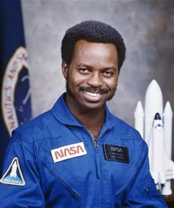 AP Photo/NASA, File). FILE - This undated file photo provided by NASA shows astronaut Ronald E. McNair. McNair was one of seven crew members aboard the space shuttle Challenger on Jan. 28, 1986, when the vehicle exploded shortly after liftoff