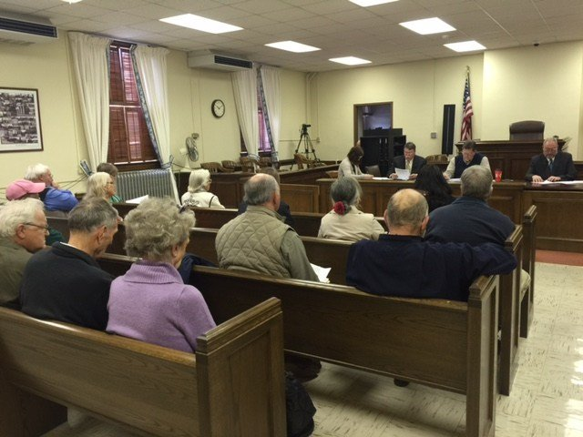 Greenbrier Co. Commission meeting on Feb. 10, 2015