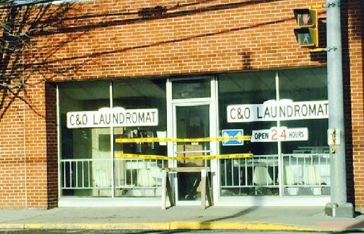 The C&O Laundromat catches fire early Friday morning in Oak Hill.