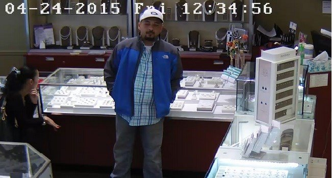 Man and woman are wanted in connection with theft at Lewisburg jewelry store.