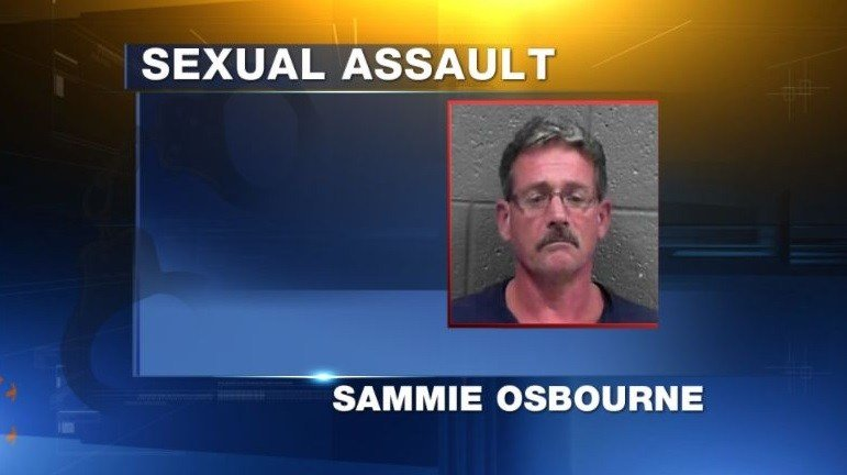 Sammie Lee Osborne, 51, is charged with multiple sex crimes including incest and sexual abuse. Police say the victim was a family member between 9-11 years old.