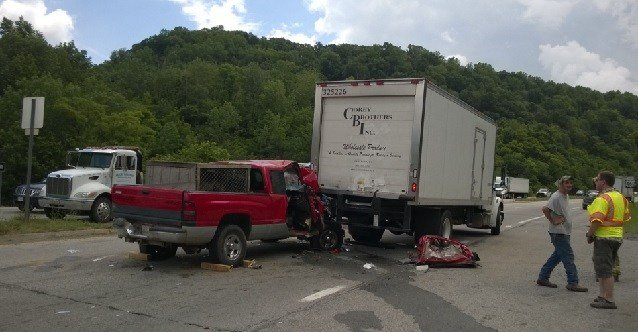 Two adults and two children are injured in a multi-vehicle crash on Route 460 in Mercer County.