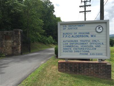 Federal Prison Camp in Alderson, WV