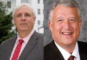 Jim Justice and Bill Cole