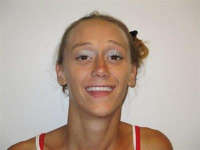Kristine Lambert is wanted for the beating and robbery of an elderly man in Mount Hope.