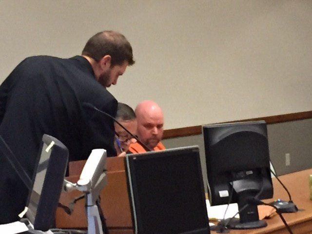 Johnnie Champ is sentenced in Raleigh County on Monday for attempting to have sex with a five-year-old girl.