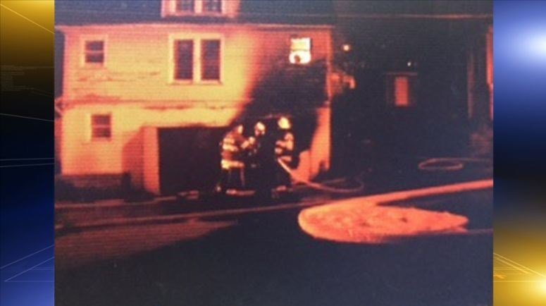 Crews battle a house fire on Spruce Street in Bluefield, WV Friday morning.
