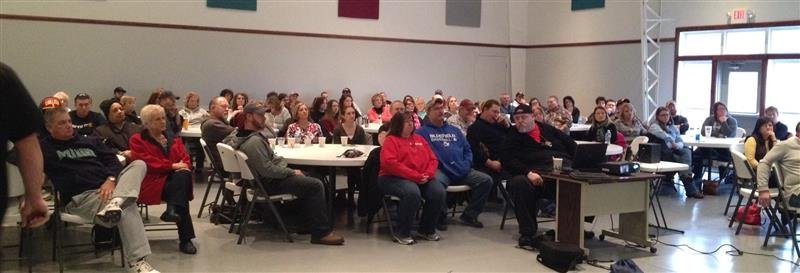 Concealed weapons class held at East River Church in Bluefield, VA. photo courtesy: Tazewell County Sheriff's Office