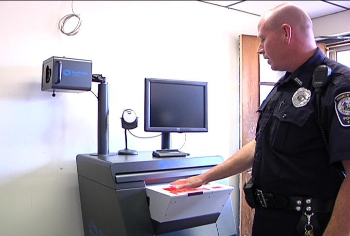 digital fingerprinting machine