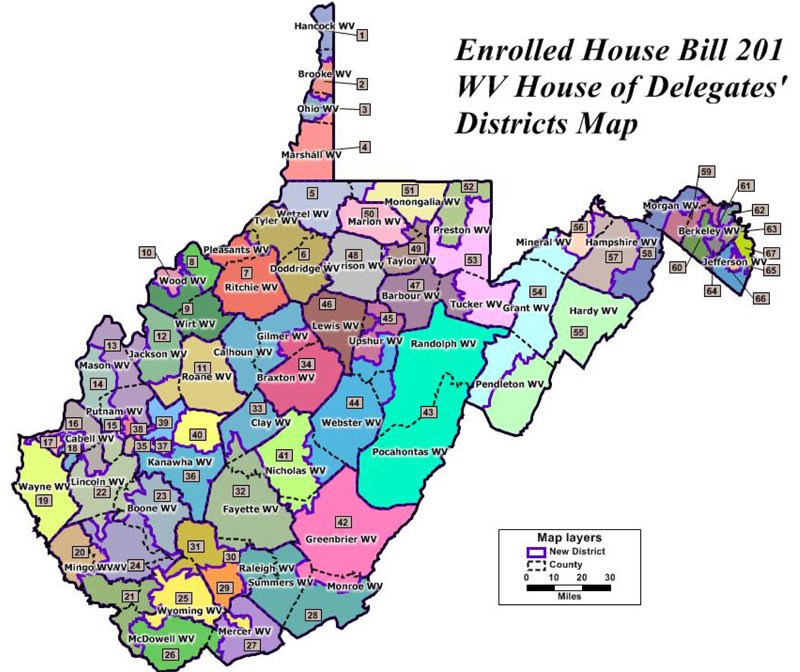 meet the candidates beckley wv map