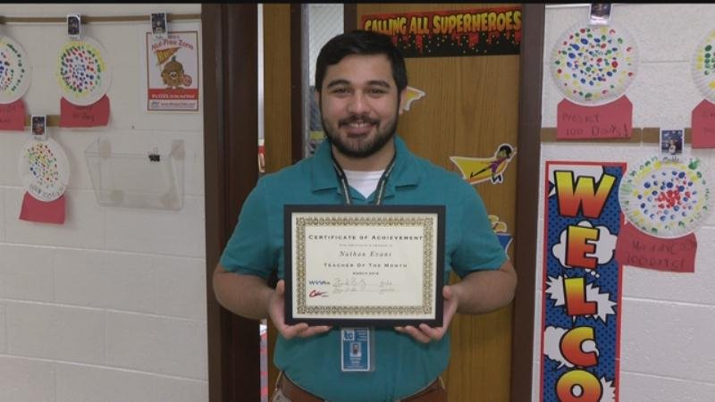Dudley primary educator named cole chevy wvva teacher of for Cole motors bluefield wv