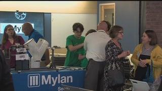 00:41; Mylan, WVU promote new STEM project