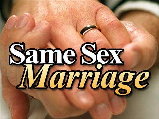 Issues on same sex marriages