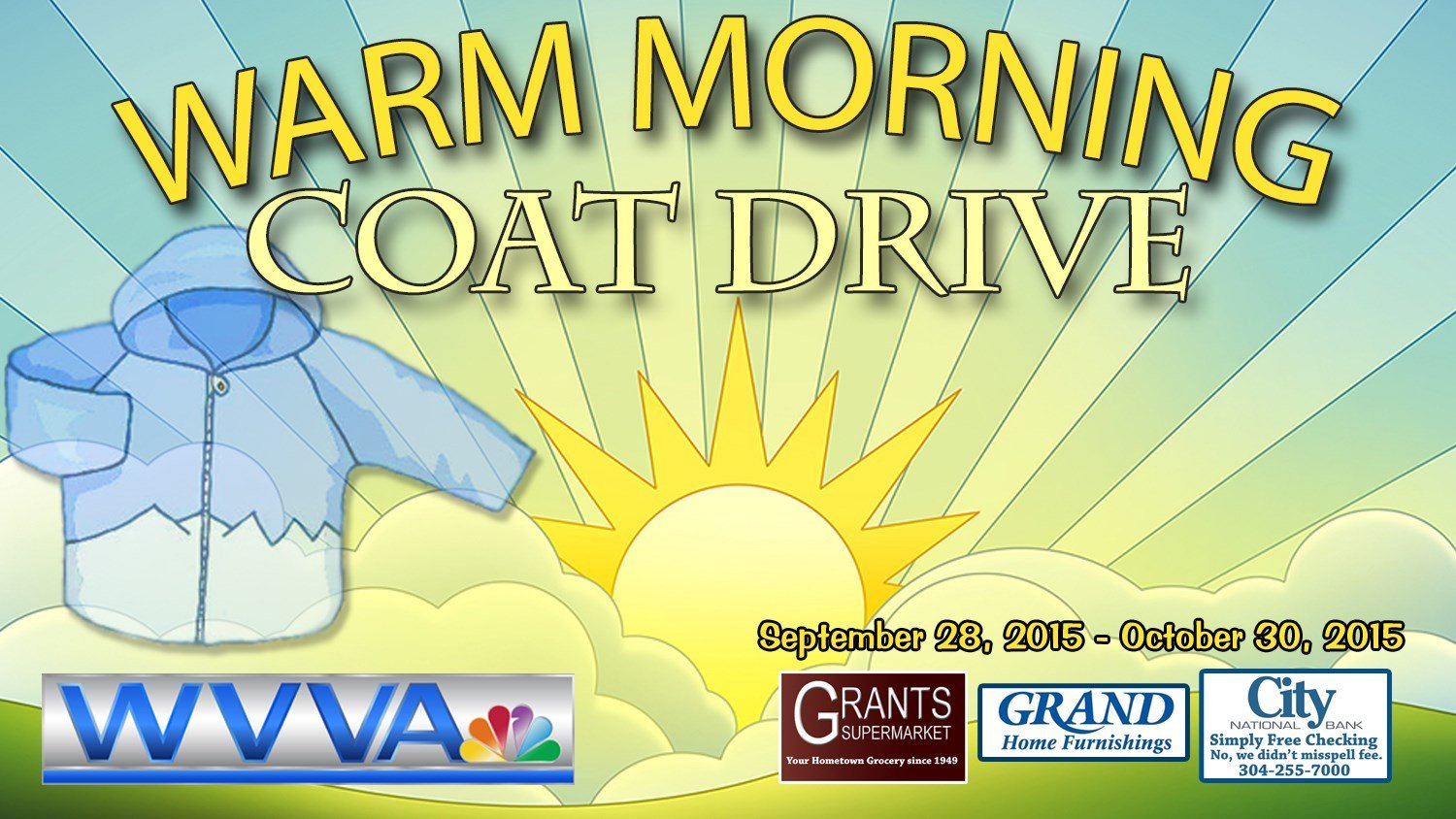 Wvva 39 s 2015 warm morning coat drive wvva tv bluefield beckley wv news weather and sports National home furniture beckley wv