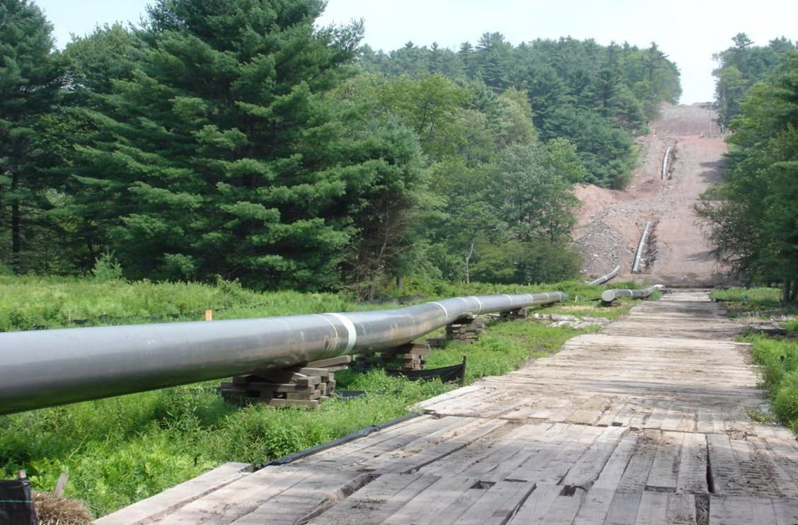 file photo of Mountain Valley Pipeline