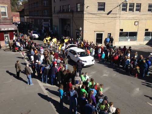 Welch Parade; photo by Gil McClanahan