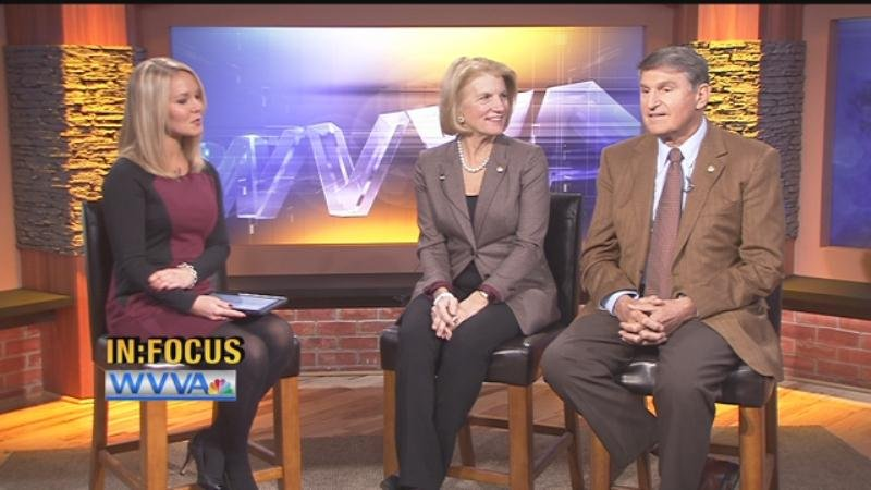 """Sen. Shelley Moore Capito and Sen. Joe Manchin sat down with WVVA's  Courtney Clark for a special edition of """"In Focus."""""""